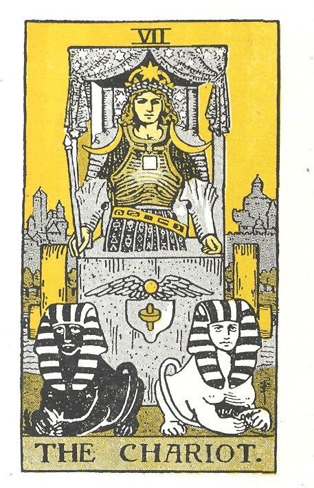 the chariot, tarot cards, tarot instruction