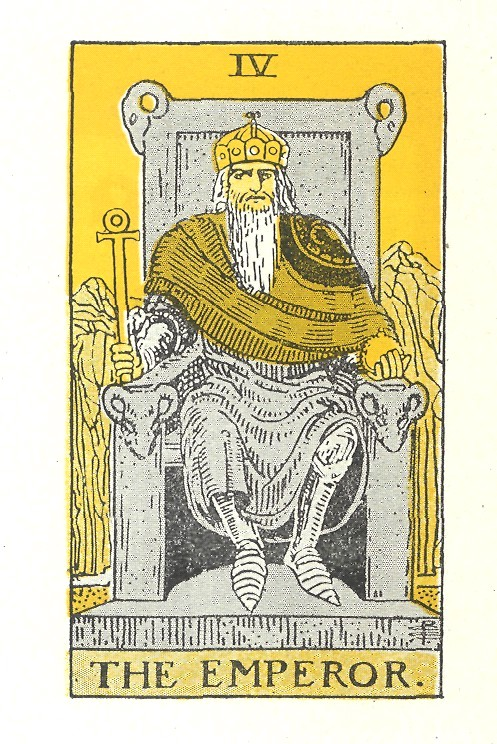 tarot reading and instruction - the emperor