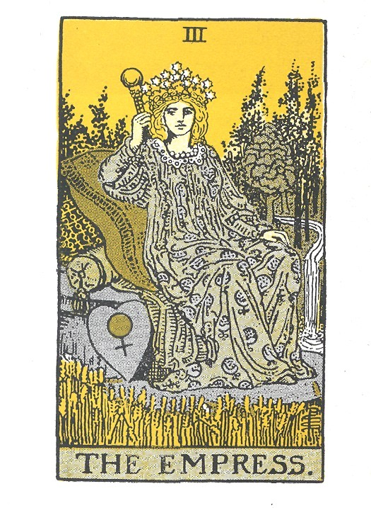 the empress, tarot reading