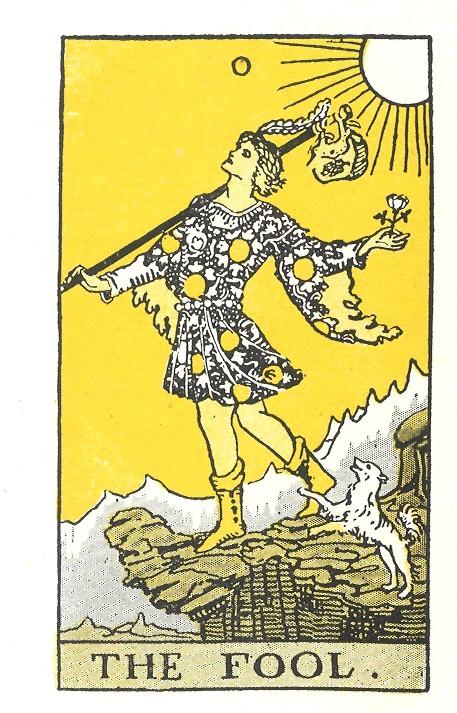 Tarot card The Fool