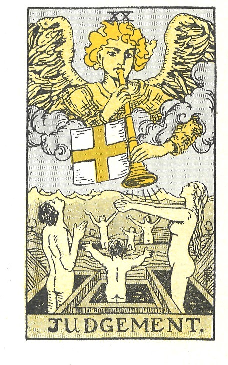 the last judgement, tarot reading